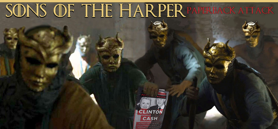SONS OF THE HARPER - PAPERBACK ATTACK