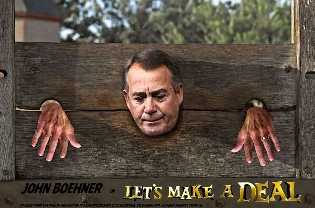 John Boehner to guest host LETS MAKE A DEAL.