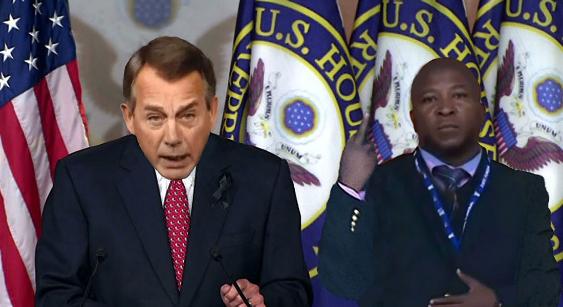 SIGNS starring John Boehner