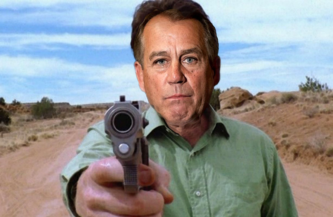 BREAKING BOEHNER CRIMINAL MIND series announced.