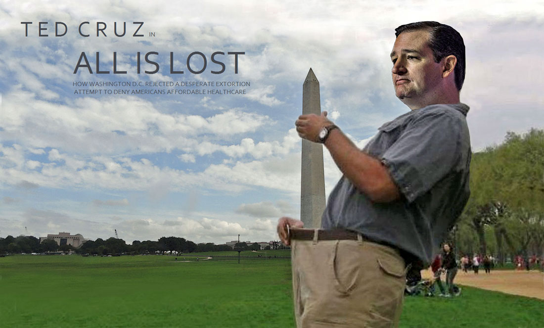 TED CRUZ - ALL IS LOST now playing