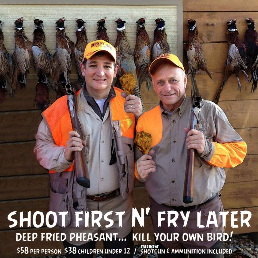 NRA's LEAD CHEF features Iowa's Shoot N' Fry Fried Pheasant
