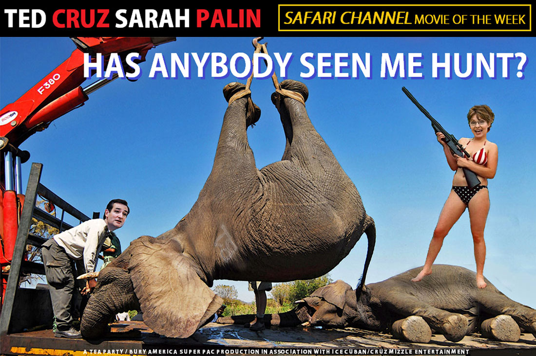 HAS ANYBODY SEEN ME HUNT? debuts on SAFARI CHANNEL Movie of the Week