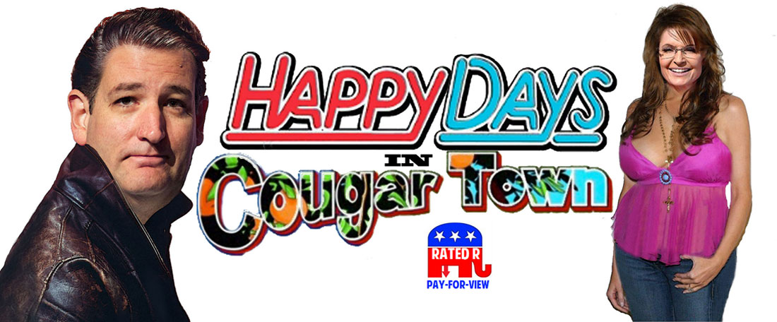 HAPPY DAYS       IN COUGAR TOWN