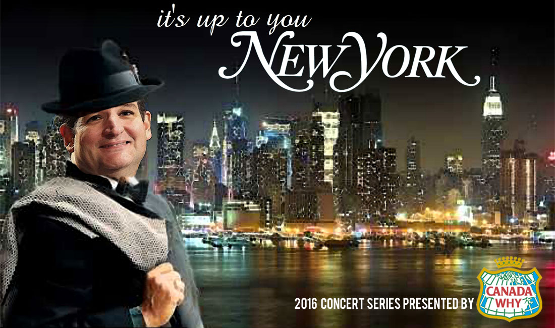 IT'S UP TO YOU NEW YORK - CONCERT PRESENTED BY CANADA WHY