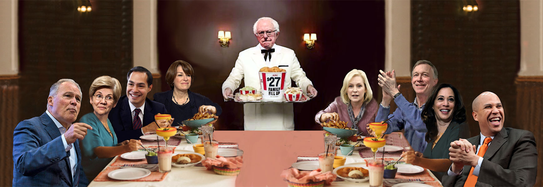 2020 DEMOCRATIC CANDIDATE DINNER