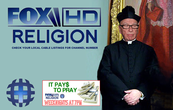 Murdoch purchases several worldwide religions!
