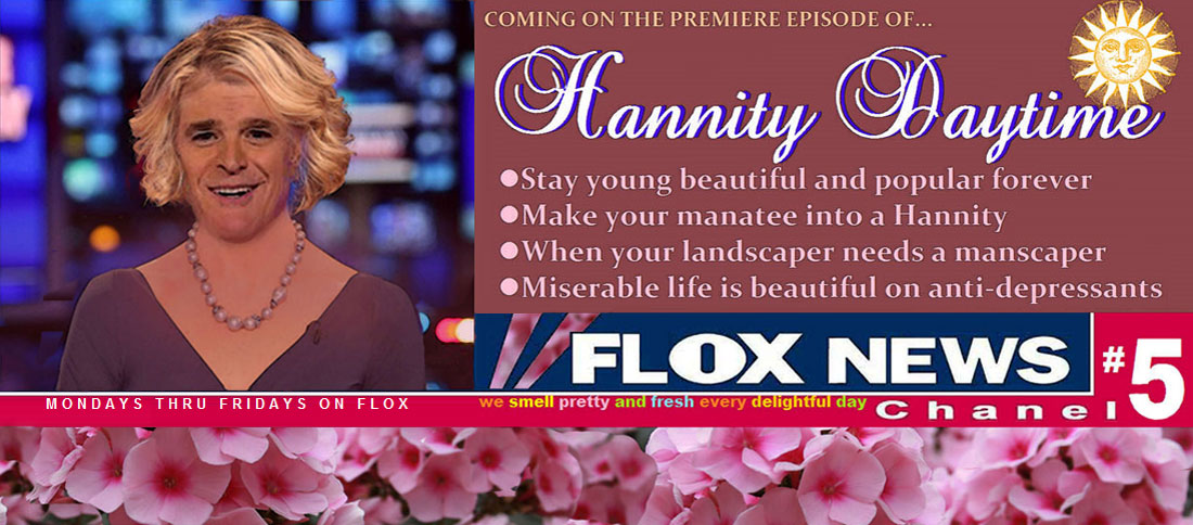 HANNITY DAYTIME coming to FLOX news network.