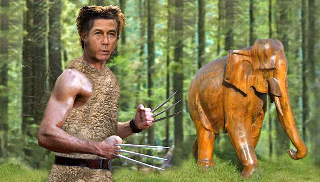THE WOOLVERINE WOODCARVER starring John Boehner