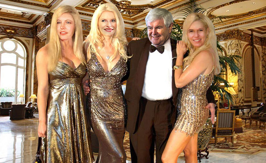 Gingrich family reunion.