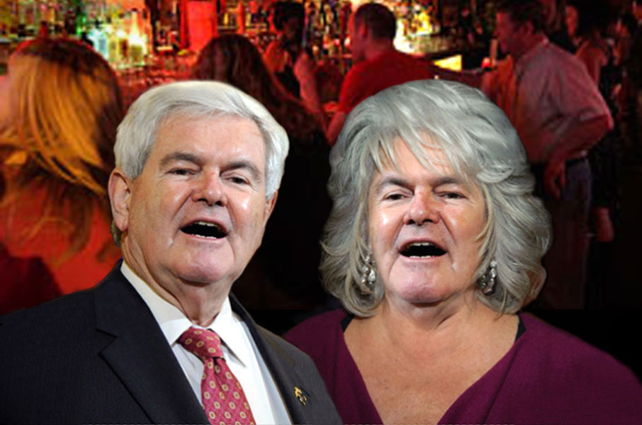 Gingrich finds hometown support in Ohio!
