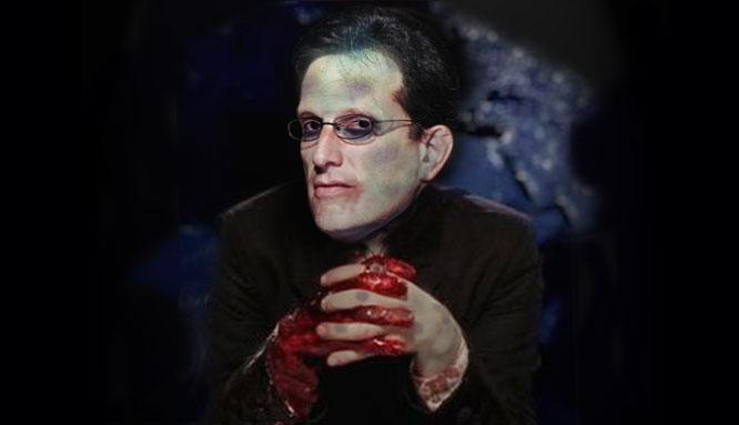 Eric Cantor - Traitor To America and Corporate Zombie.