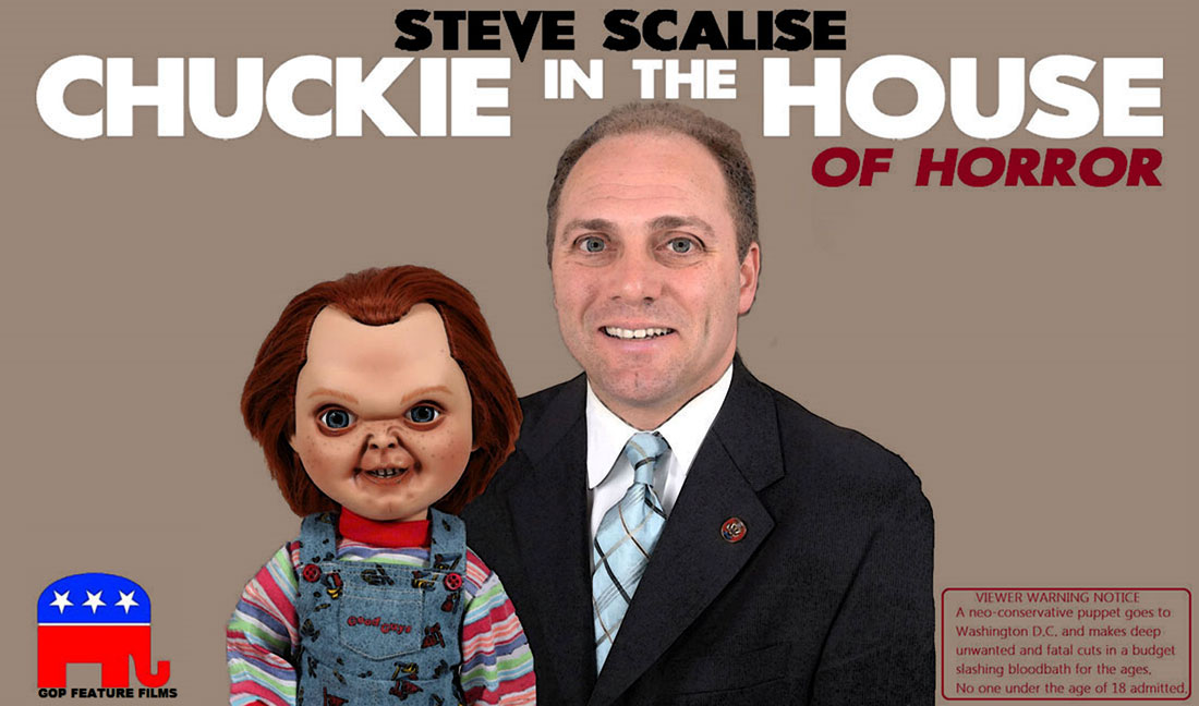 CHUCKIE IN THE HOUSE OF HORROR
