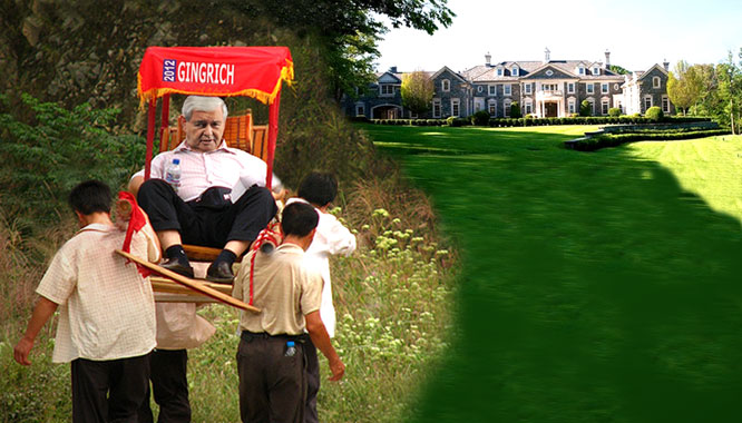 Gingrich says laws against child labor are truly stupid.