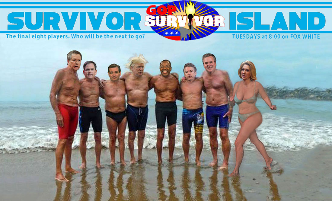 GOP SURVIVOR ISLAND 2016