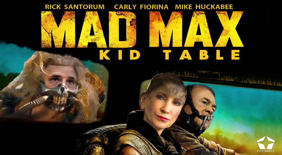 MAD MAX - KID TABLE