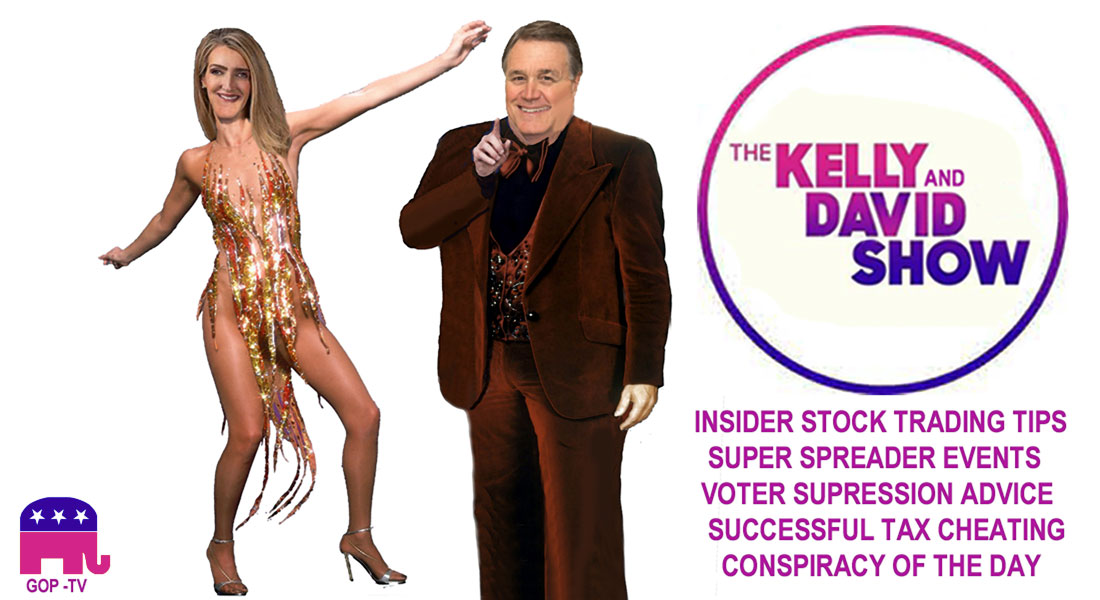 THE KELLY AND DAVID SHOW