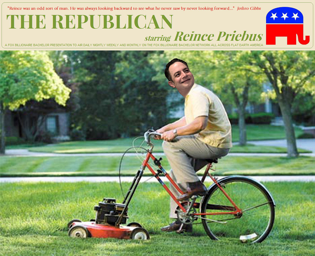 THE REPUBLICAN starring REINCE PRIEBUS