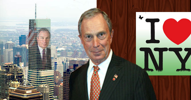 Bloomberg outs self from Presidential bid.
