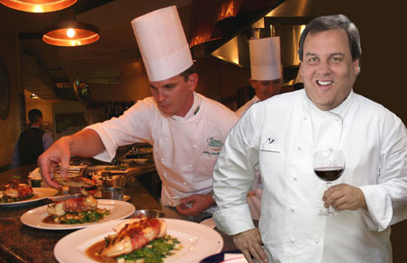 Is New Jersey Governor Chris Christie a master chef or a butcher?