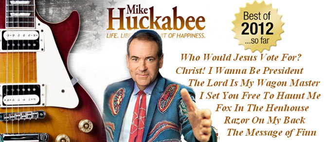 Huckabee is the first candidate to release       his record on CD.