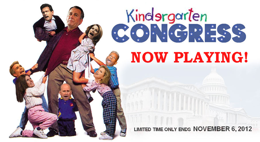 Kindergarten Congress - now playing!