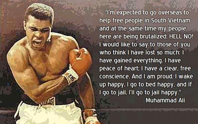 Muhammad Ali War Quotes