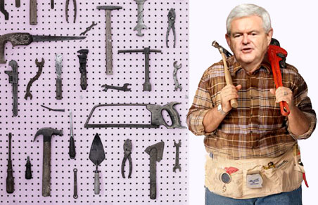 Newt wants hammer time on food stamps.
