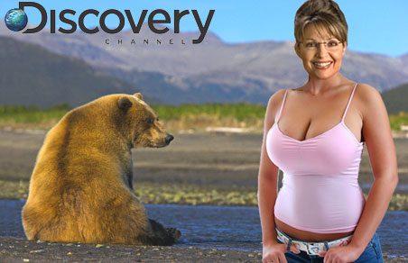 Sarah Palin will star in a reality series from Alaska on the Discovery Channel
