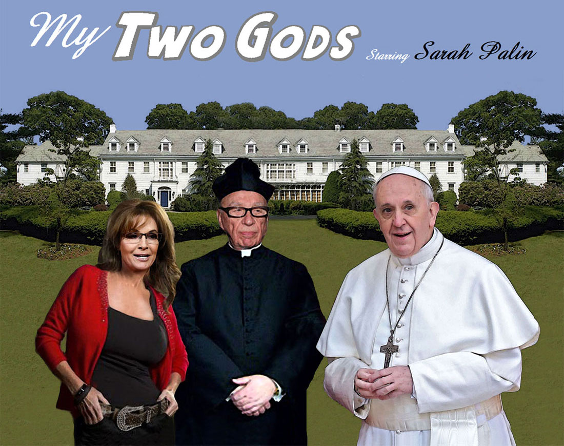 MY TWO GODS starring SARAH PALIN