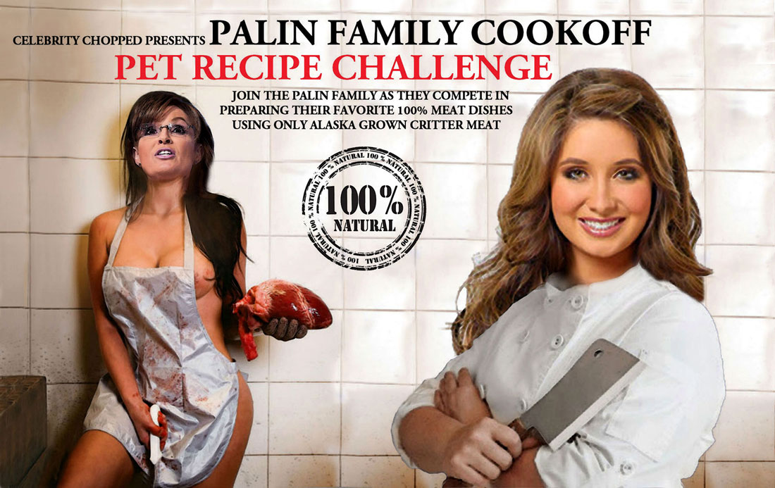 PALIN FAMILY COOKOFF - PET RECIPE CHALLENGE