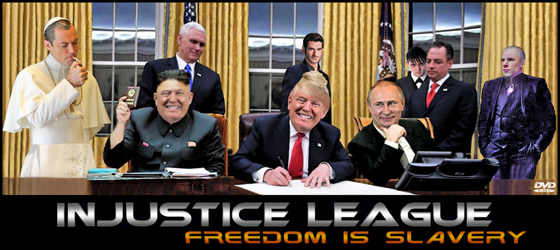 INJUSTICE LEAGUE - FREEDOM IS SLAVERY