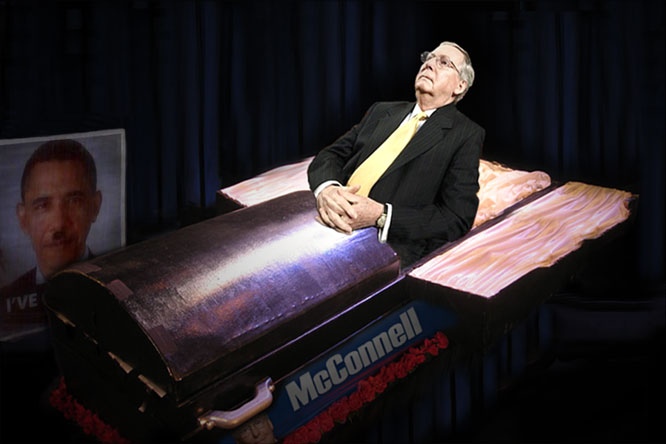 McConnell smells blood.