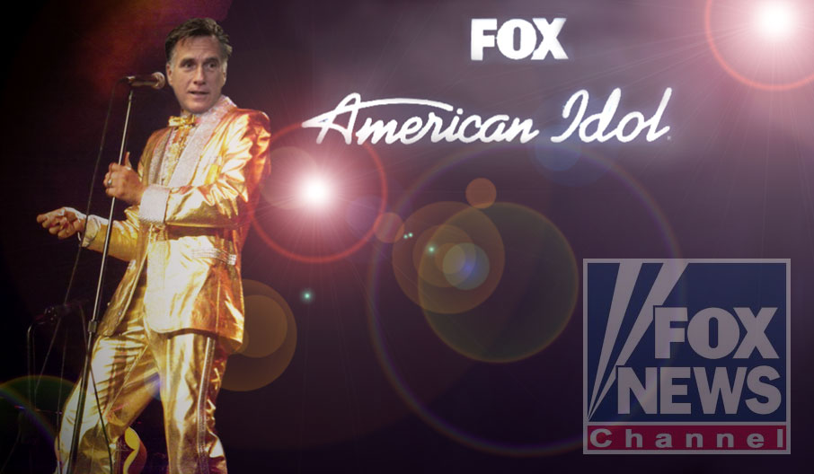 Lord Romney named FOX news American Idol!