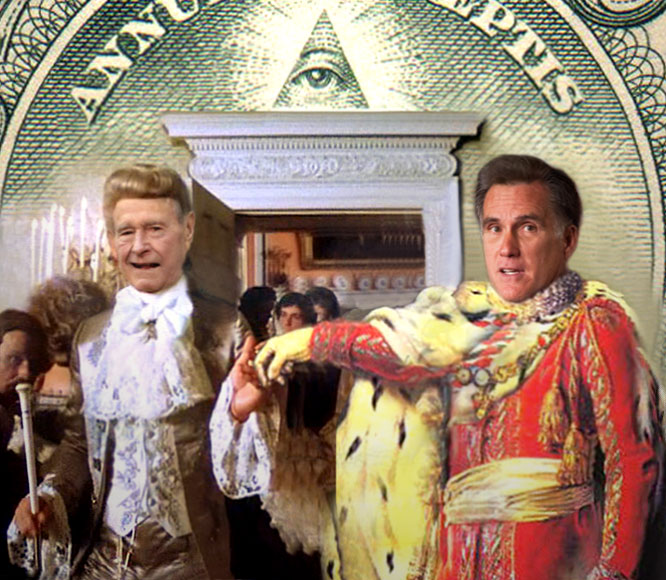 Illuminati selects Romney!