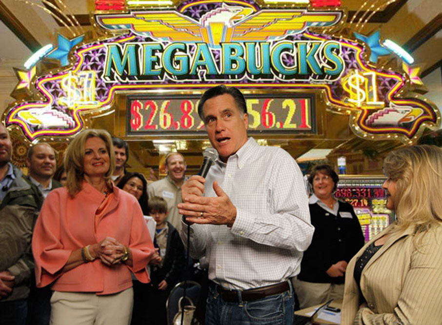 Romney says you're just one jackpot from his tax bracket!