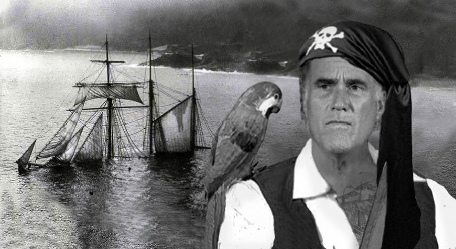 Romney's ship is sinking.