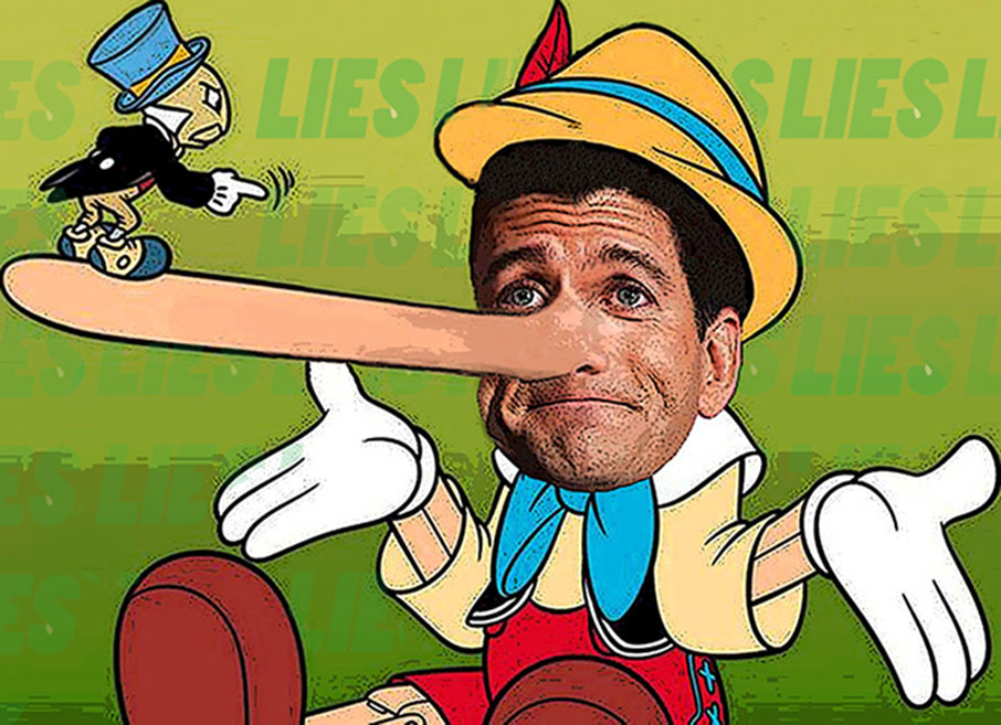 Paul Ryan sets modern record for number of lies in one speech.