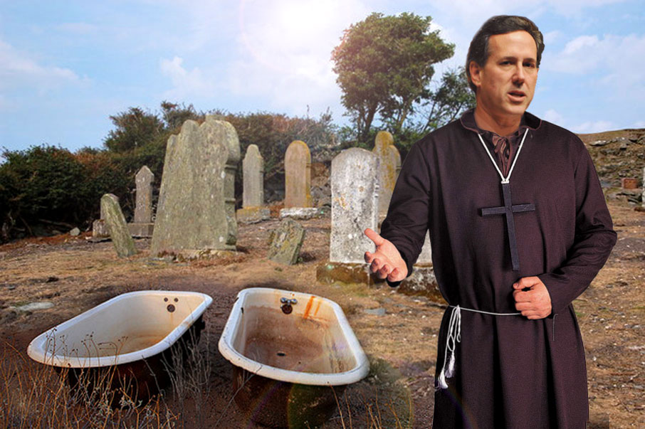 Santorum Says All Contraception Wrong!