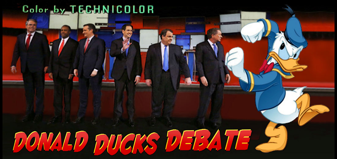 DONALD DUCKS DEBATE