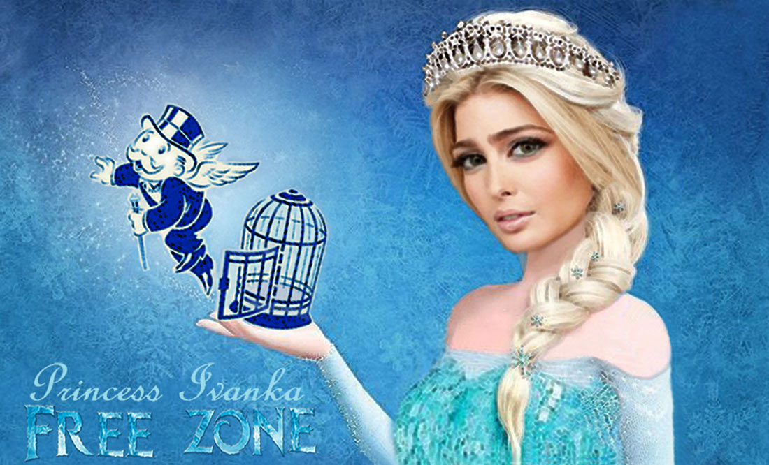 PRIONCESS IVANKA in FREE ZONE