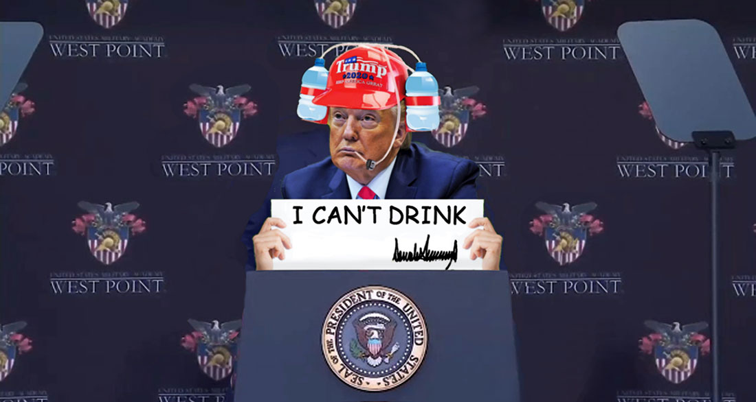 I CAN'T DRINK