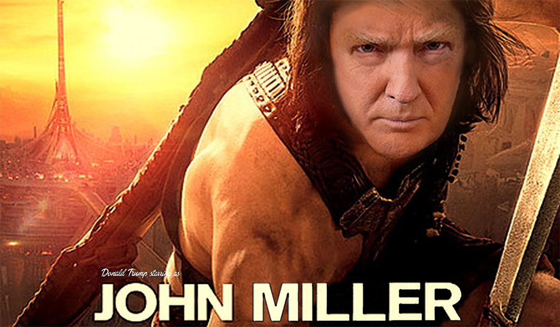 DONALD TRUMP starring in JOHN MILLER