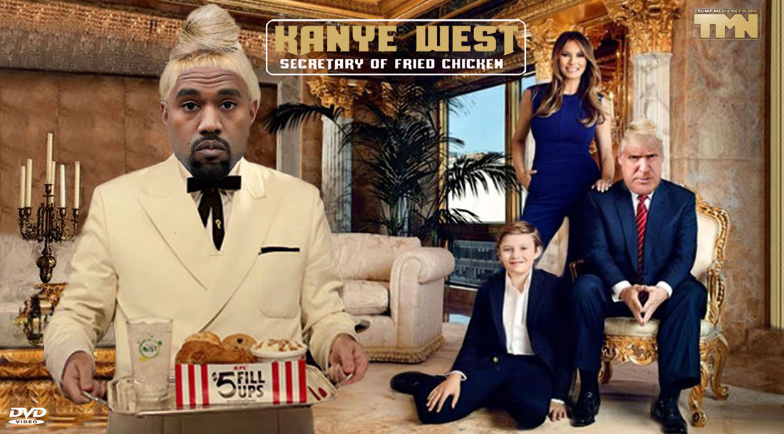 KANYE WEST- SECRETARY OF FRIED CHICKEN
