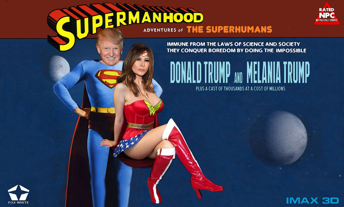 SUPERMANHOOD - ADVENTURES OF THE SUPERHUMANS
