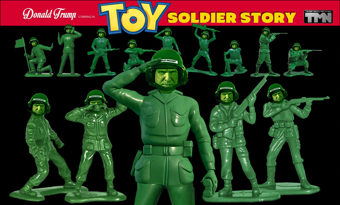 TOY SOLDIER STORY