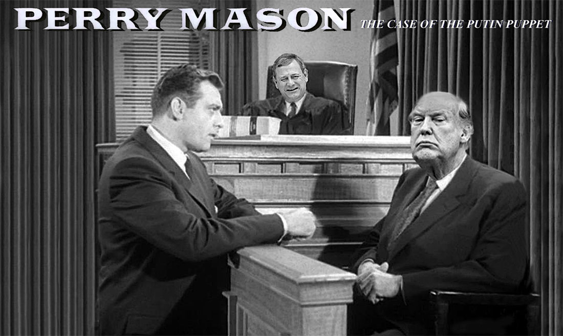 PERRY MASON -THE CASE OF THE PUTIN PUPPET