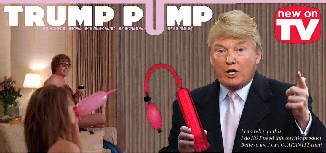 TRUMP PUMP (30 minute advertisement)