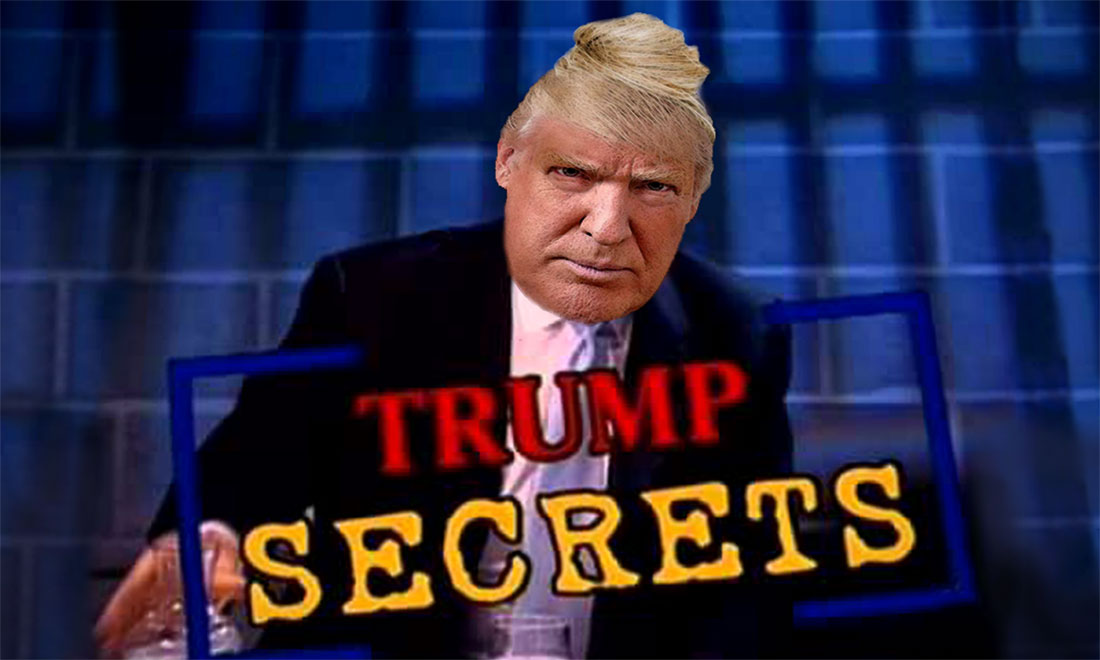 DONALD TRUMP starring in TRUMP SECRETS