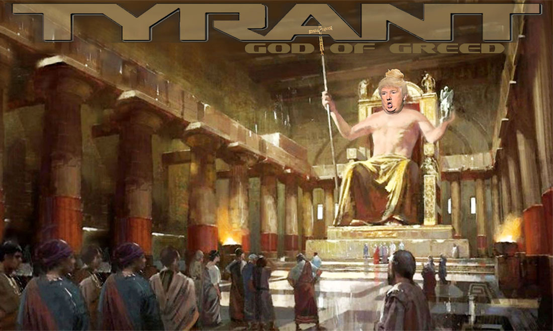 TYRANT - GOD OF GREED